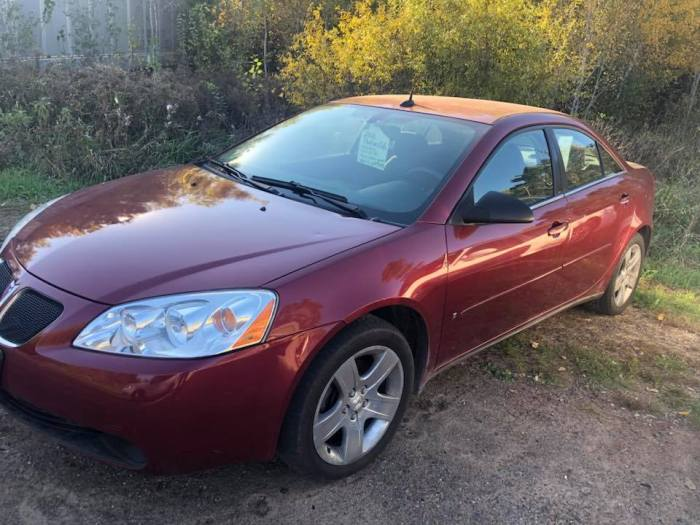 2008 Pontiac G6 Side