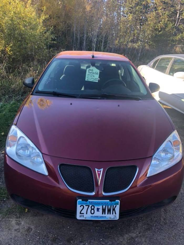 2008 Pontiac G8 Front