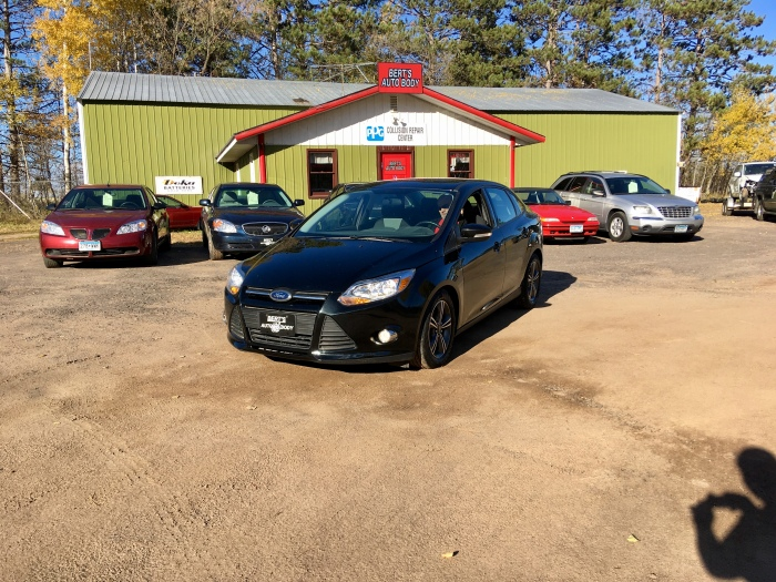 Ford Focus Front of Shop